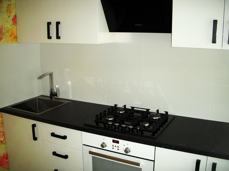 Кухня крашеные фасады