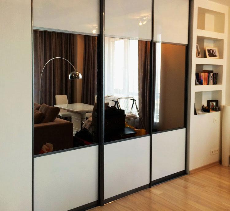 Встроенный шкаф-купе в гостиную